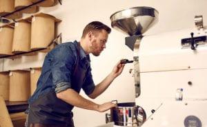 Koffie branden