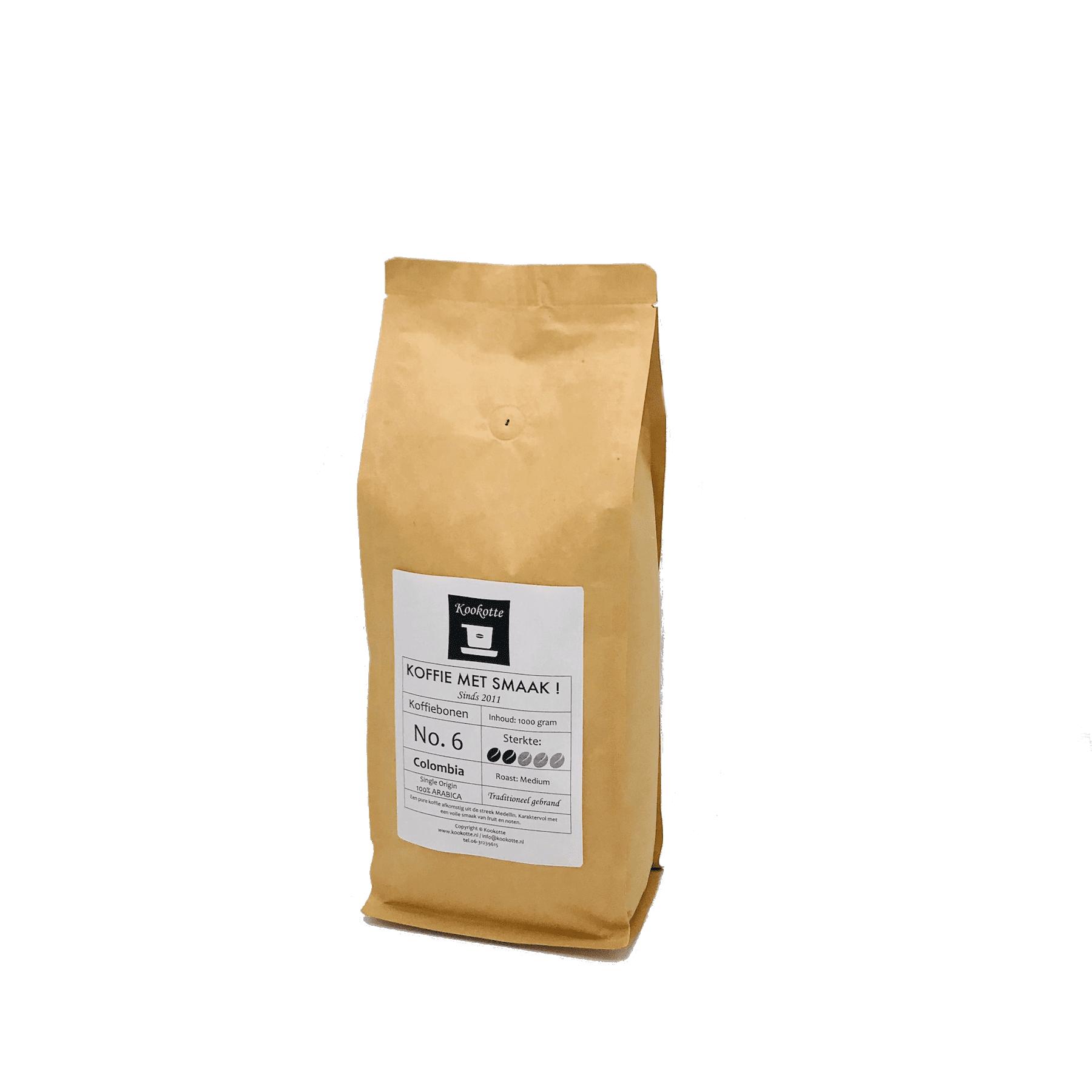 Koffiebonen No.6